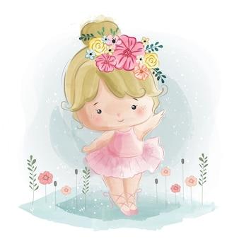 Leuke ballerina