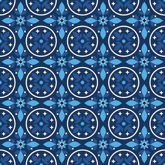 Leuke blauwe tegels