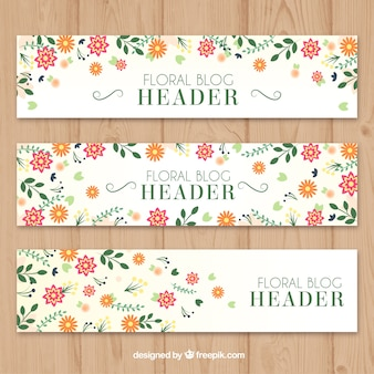 Leuke bloemen headers