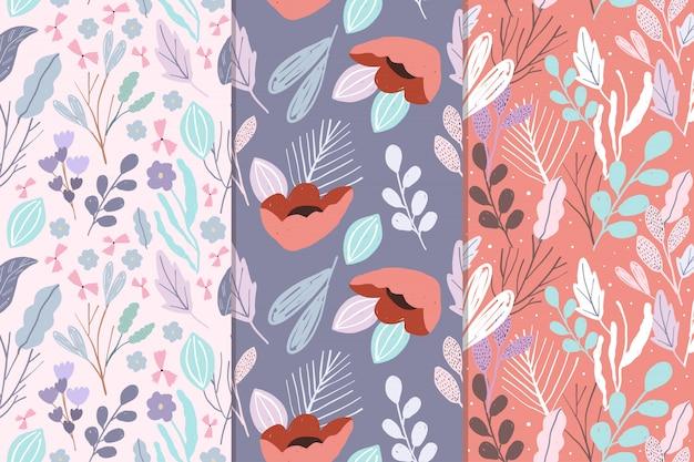 Leuke bloemen naadloze patrooninzameling