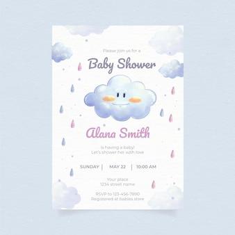 Leuke chuva de amor baby showeruitnodiging