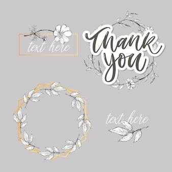 Leuke dank u script kaart bloemen brief tekst