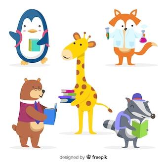 Leuke dieren leren collectie
