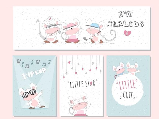 Leuke dierenkaarten voor kinderen