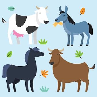 Leuke dierenset cartoon serie
