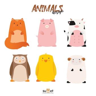 Leuke dierenset