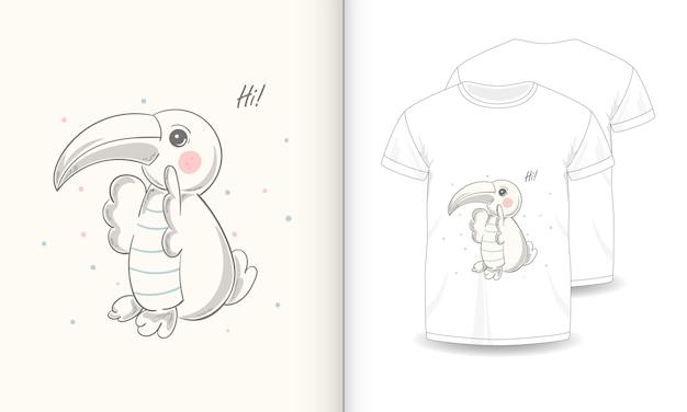 Leuke dierlijke afbeeldingen met t-shirt voor baby.