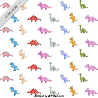 Leuke dinosaurussen patroon
