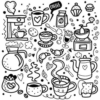 Leuke doodle coffeeshop