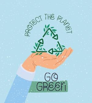Leuke eco-poster