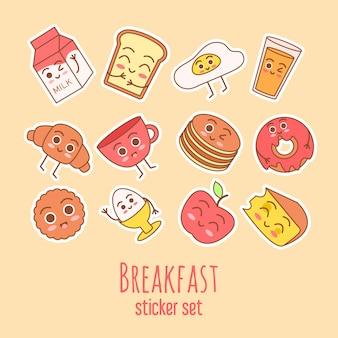 Leuke en eenvoudige frame illustratie met omelet, olijfolie, eieren, melk, zout, ui, champignons