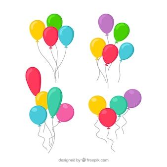 Leuke en kleurrijke decoratieve ballonnen