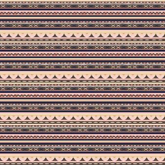 Leuke etnische naadloze patroon kleurrijke vrouwelijke achtergrond