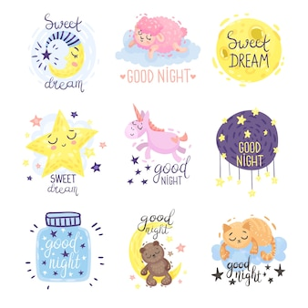 Leuke foto's met het opschrift good night