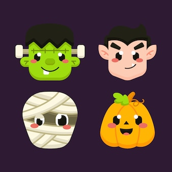 Leuke halloween avatar set
