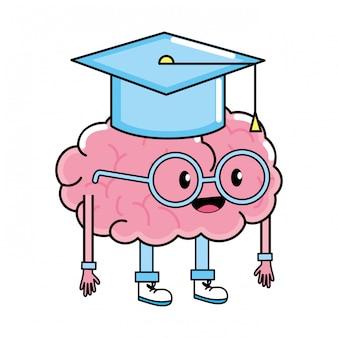 Leuke hersenen cartoon