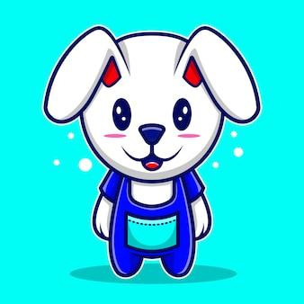 Leuke illustratie konijntje