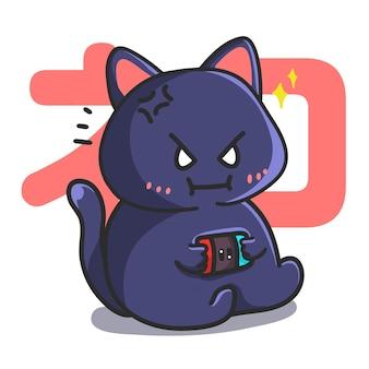 Leuke kat speelspel