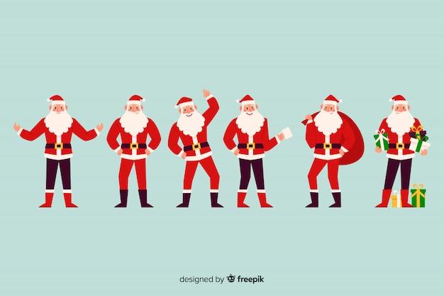 Leuke kerst tekenset