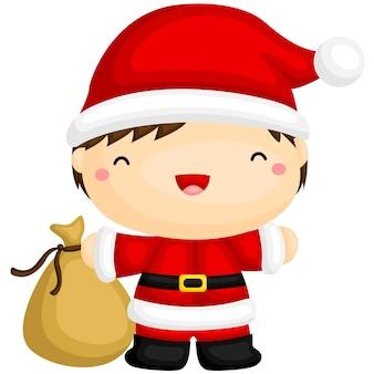 Leuke kerstman