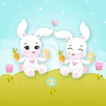 Leuke konijntjes