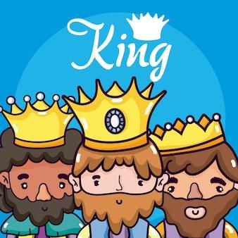 Leuke koningencartoons