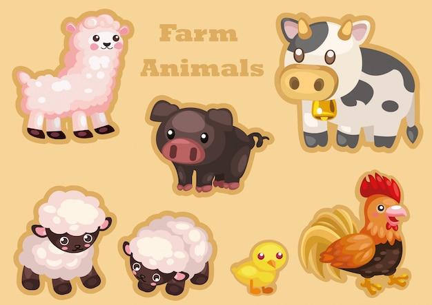 Leuke landbouwhuisdieren