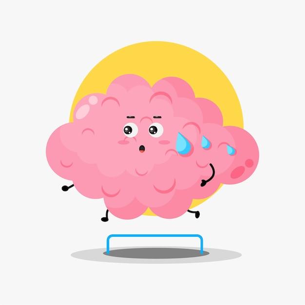 Leuke loopwedstrijd voor hersenpersonages
