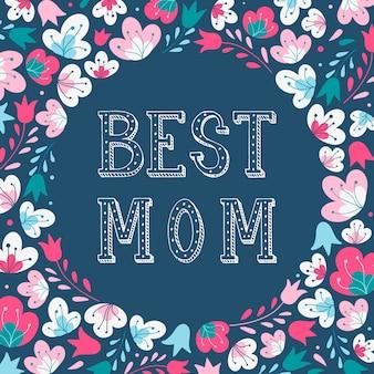 Leuke moederdagkaart