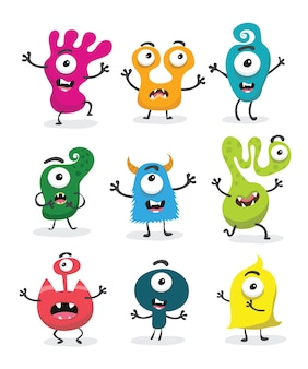 Leuke monster set