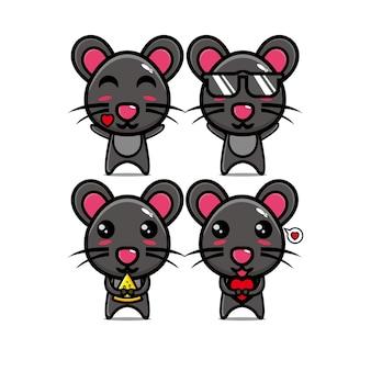 Leuke muisbundelset met karakterdier
