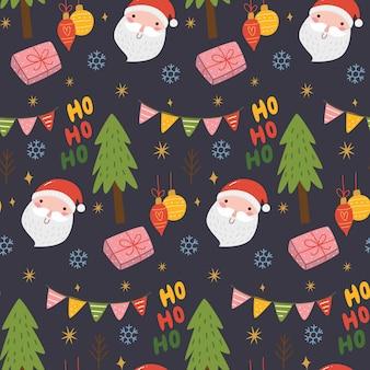 Leuke naadloze kerstmis