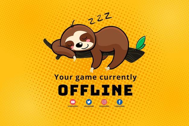 Leuke offline twitch-bannermalplaatje