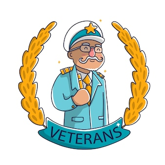 Leuke old man veterans