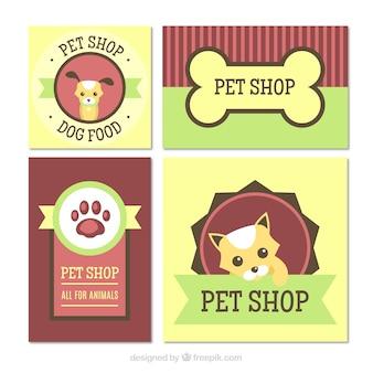 Leuke pak stickers met huisdieren