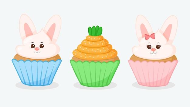 Leuke pasen cupcake