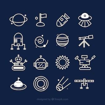 Leuke pictogrammen ruimte
