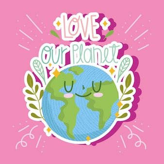 Leuke planeet cartoon