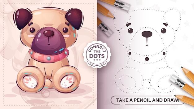 Leuke pug dot connect smart game