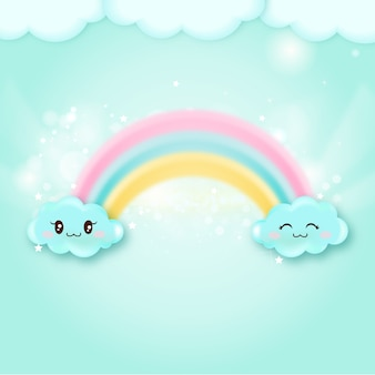 Leuke regenboog