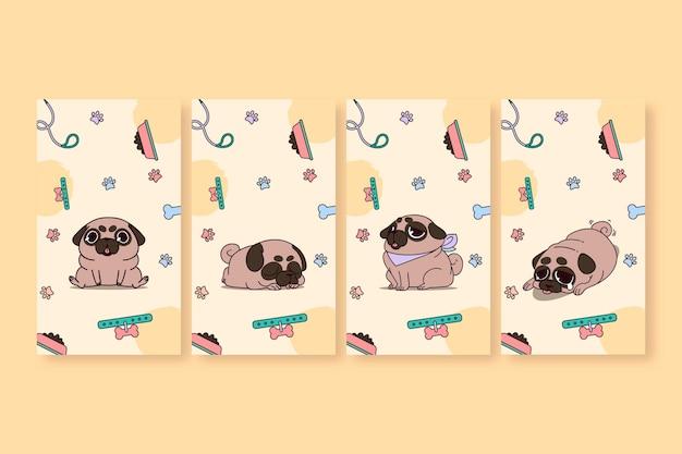 Leuke schattige puppy mobiel behang