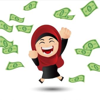 Leuke set arabische zakenmensen