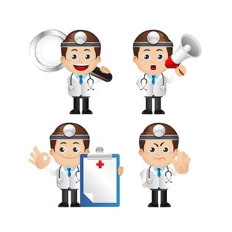 Leuke set van dokter