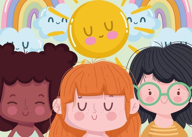 Leuke tekenfilm voor kinderen