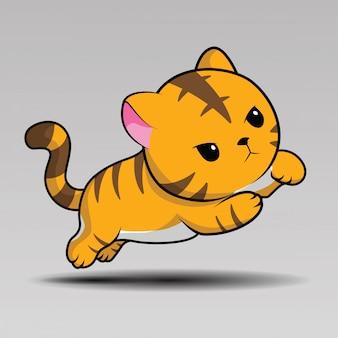 Leuke tijger cartoon