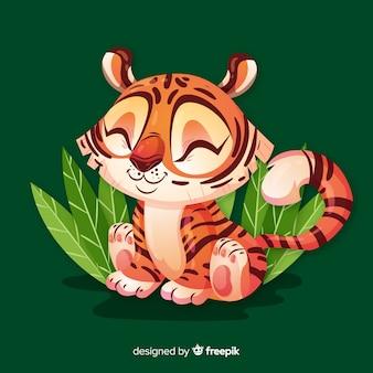 Leuke tijger