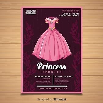 Leuke uitnodiging van de prinsespartij