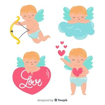 Leuke valentijnskaart cupido-collectie