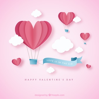 Leuke valentijnskaartachtergrond