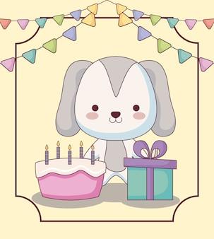 Leuke van een hond gelukkige verjaardagskaart